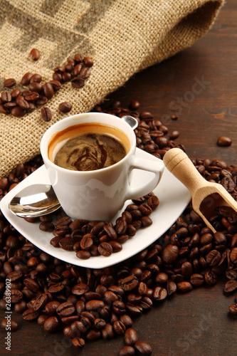Keuken foto achterwand Koffiebonen caffè