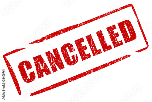 Fotografía  Cancelled stamp