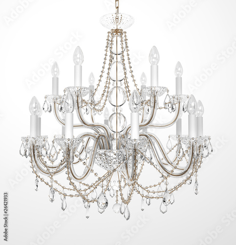 Fotomural Luxury Glass Chandelier