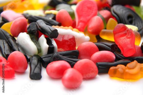 Aluminium Prints Candy Bonbons