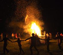 Dance Around Fire