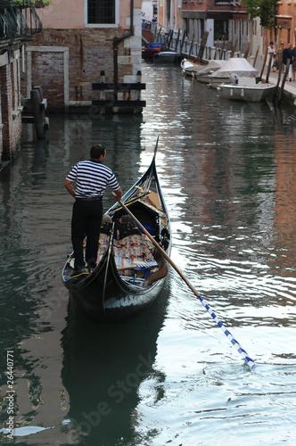 Foto op Aluminium Gondolas gondolieri venezia 571
