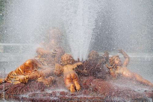 Fotobehang Fontaine Grandes-eaux à Versailles