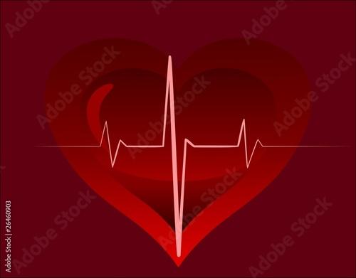 Fotografie, Tablou  heartbeat