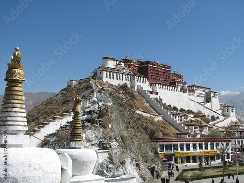 Palast in Tibet II