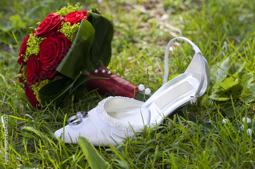 Photo Stands Camping Wedding