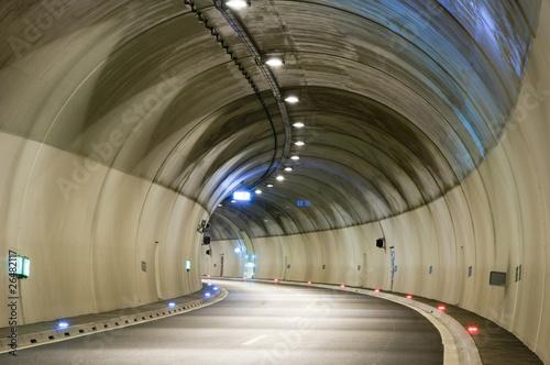 Fotografie, Obraz  Tunnel