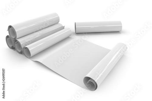 Pinturas sobre lienzo  Papierrollen (glossy)