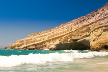 Matala Beach. Crete. Greece.