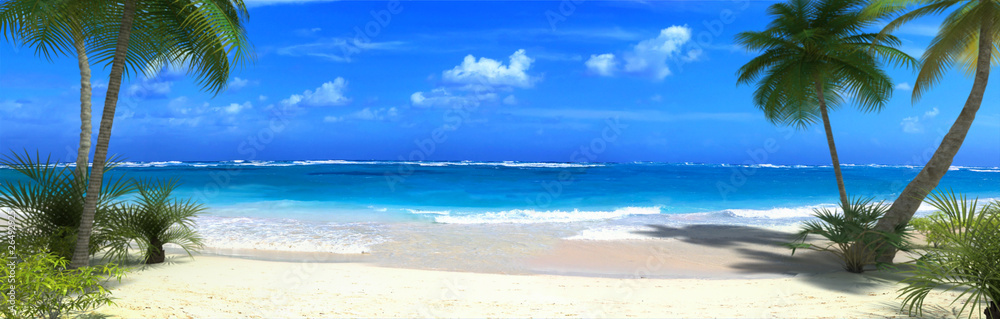 Fototapeta Tropical beach
