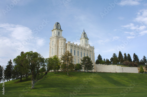 In de dag Temple LDS Manti Utah Temple