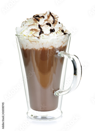 In de dag Chocolade Cup of hot chocolate