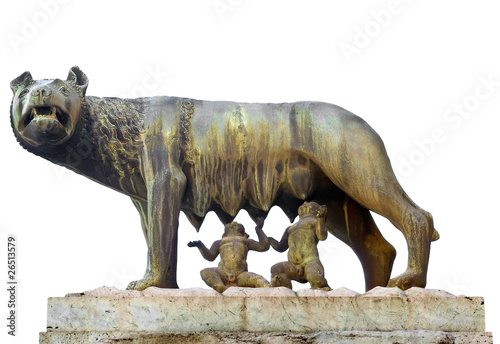 Lupa Capitolina, Campidoglio, Roma Canvas Print