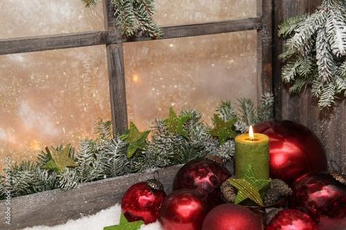 Fensterschmuck Fur Weihnachten Buy This Stock Photo And Explore