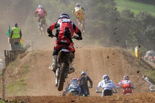les pilotes de motocross