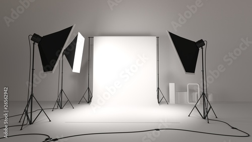 Obraz na plátně studio photo