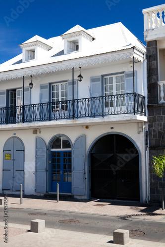 Fotografía  Case traditionnelle à Saint Denis de la Réunion