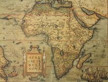 Antique Map Of Africa
