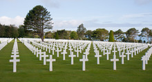 American Cemetery At Omaha Beach, Normany France