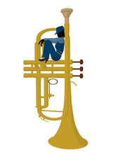 African American Jazz Musician...