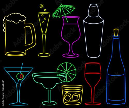 Neon bar collection