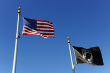 American And POW/MIA Flags