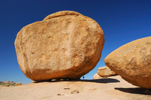 Huge Rock In Erongo Mountains