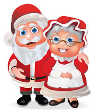 Santa Claus And Mrs Claus