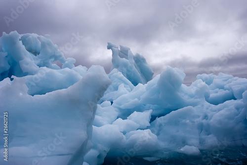 stormy iceberg