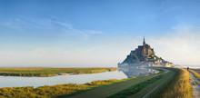 Dawn At Mont Saint Michel.