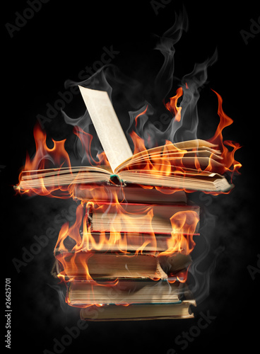 Recess Fitting Flame Burning books