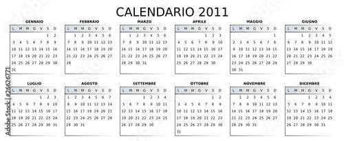 2011 Calendario.Calendario 2011 Personalizzabile Buy This Stock Vector And