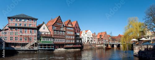 Fototapeta  Am Stintmarkt in Lüneburg