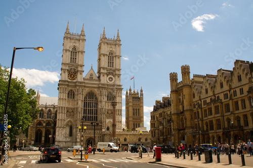 Fotografie, Obraz  Westminster Abbey Kirche england hauptstadt london