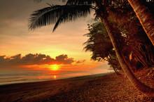 Puesta De Sol En Costa Rica