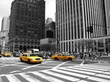 Fototapeta City - NYC Taxi
