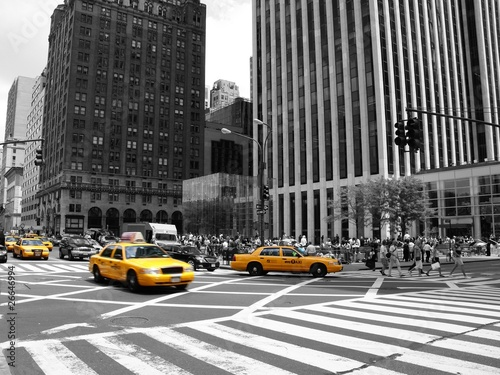 Papiers peints New York TAXI NYC Taxi