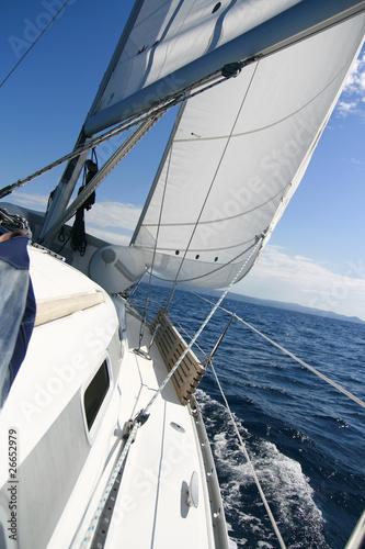 Tuinposter Zeilen under sail