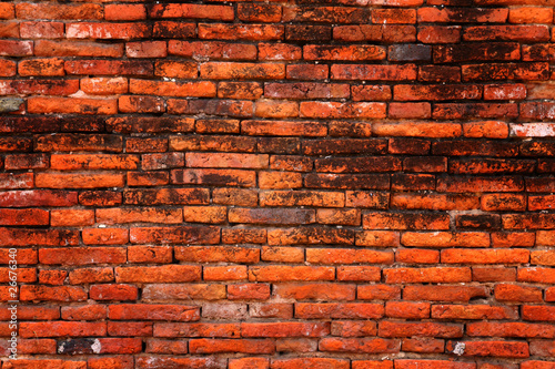 Foto op Plexiglas Wand old Brick Wall