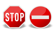 Stop/Sens Interdit