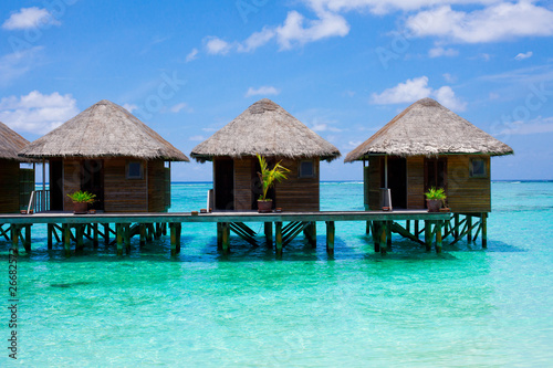 Poster Turquoise Holiday Paradise
