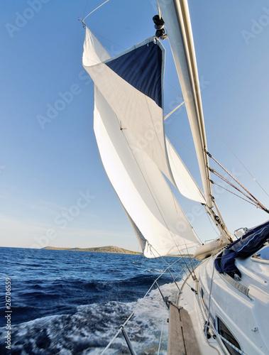 Poster Zeilen Sailing boat