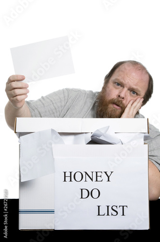 Photo  Honey Do List