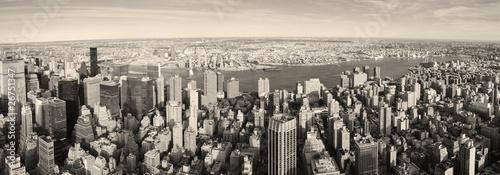 Naklejki nad kuchenny blat miasto-nowy-jork-manhattan-panoramy-widok-z-lotu-ptaka
