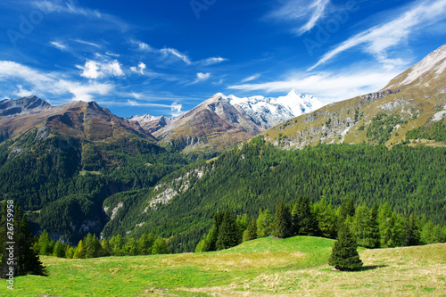 Papiers peints Alpes a beautiful view of the austrian alps