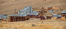 Old Mining Ghost Town In West America