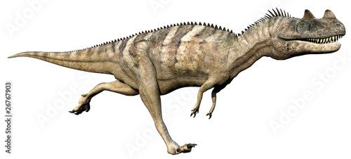 ceratosaurus side running Wallpaper Mural