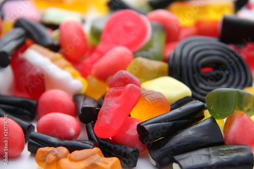 Aluminium Prints Candy Confiserie