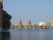 Spreeblick auf die Warschauer Brücke in Berlin