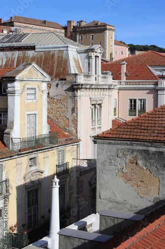 Photo  detail of street in Lisbon